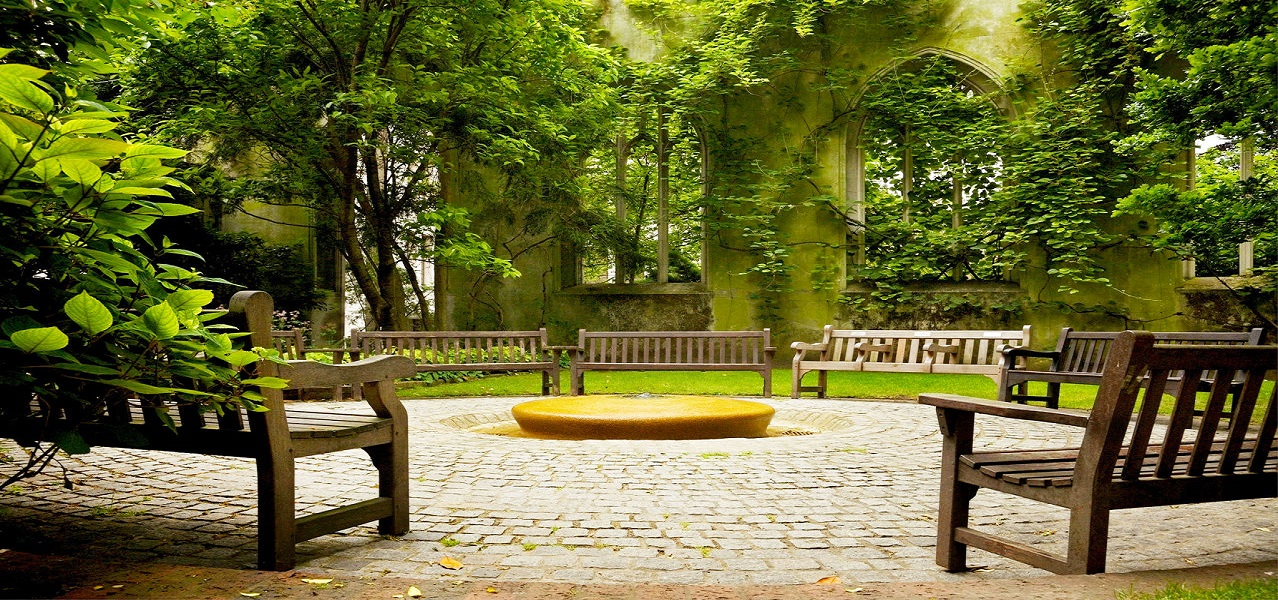 What are the most beautiful secret gardens in London?