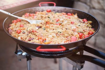 Paella Burners, Two Other Ways